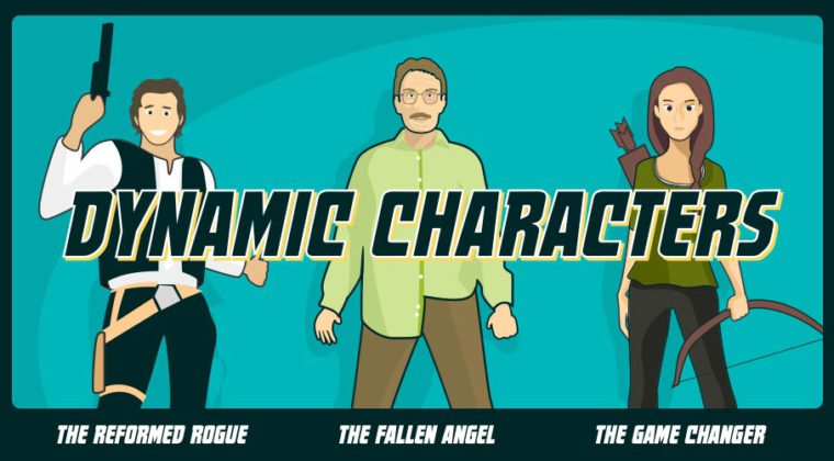 illustrated look at creating dynamic characters