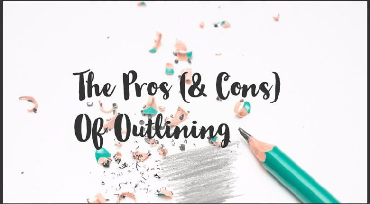 pros and cons of outlining
