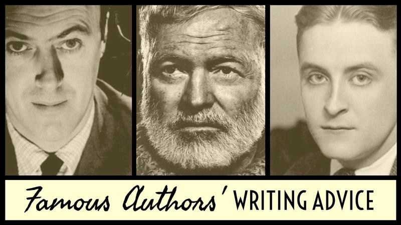 Writing Advice From The World's Most Famous Authors