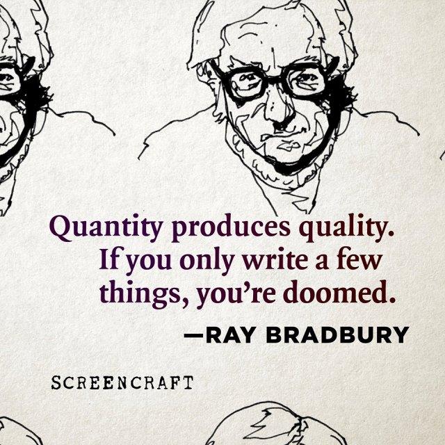 by Ray Bradbury
