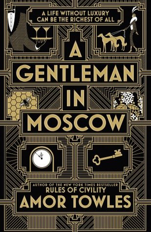 Book about man living in russian hotel