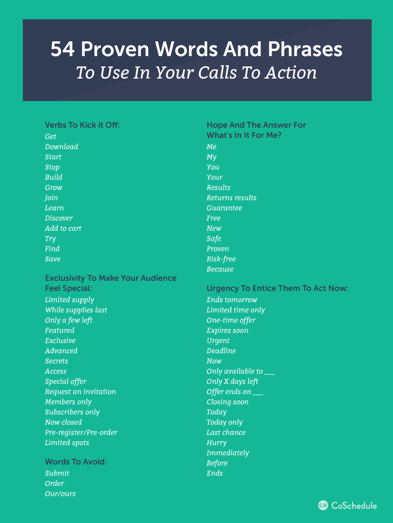 How To Write Call To Action Phrases That Convert