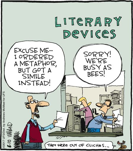 literary devices writers write