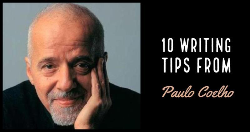 10 Writing Tips From Paulo Coelho