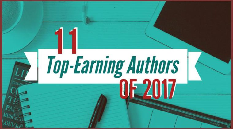 The 11 Top-Earning Authors Of 2017
