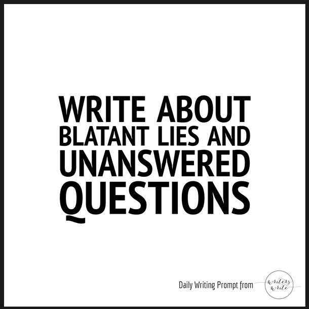 writing prompt questions