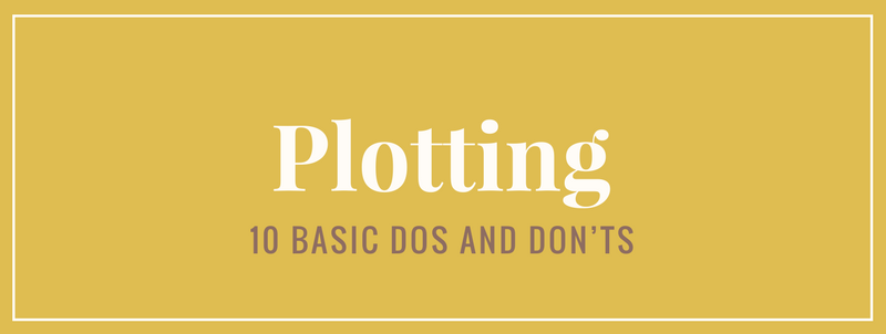 infographic do's and don'ts for plotting