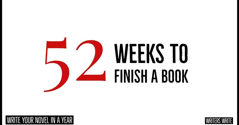 52 Weeks To Finish A Book