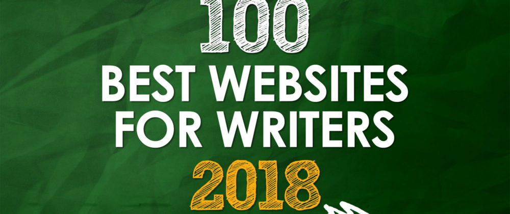 Writers Write Is One Of The 100 Best Websites For Writers in 2018