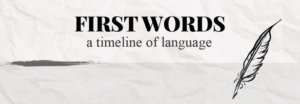 A Timeline Of Language