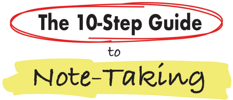 guide to taking notes