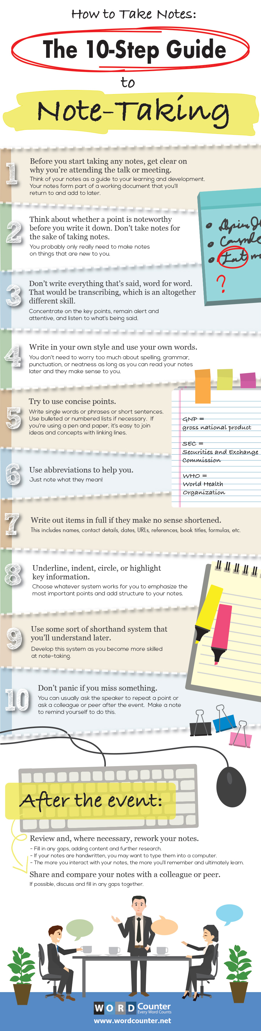 The 10-Step Guide To Taking Notes
