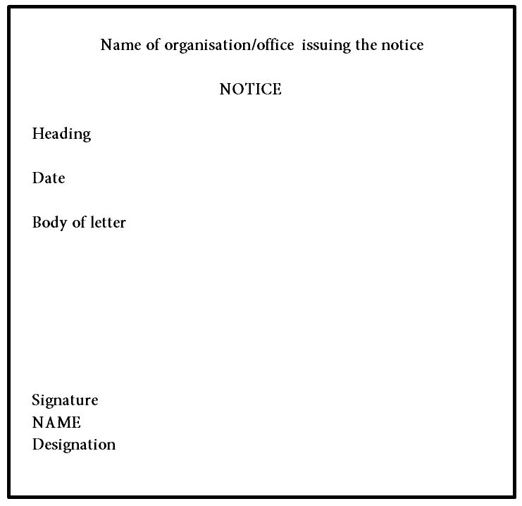 A Step-By-Step Guide To Help You Write Notices