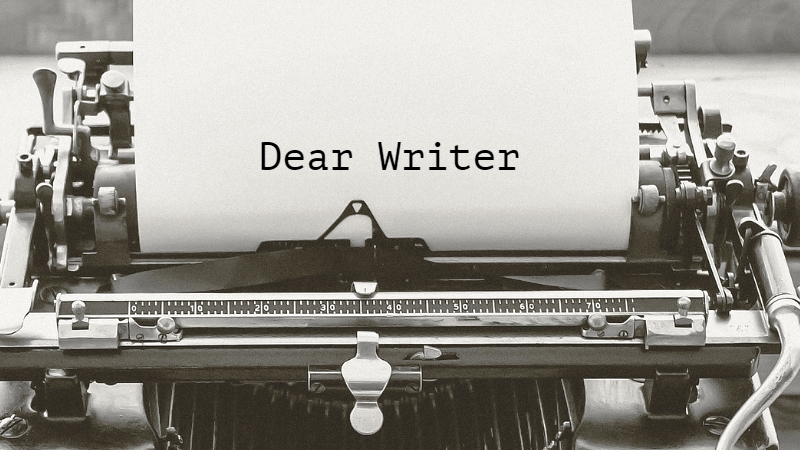 Dear Writer: Advice For Beginner Authors