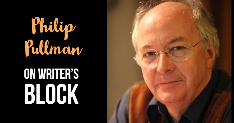 Philip Pullman: On Writer's Block
