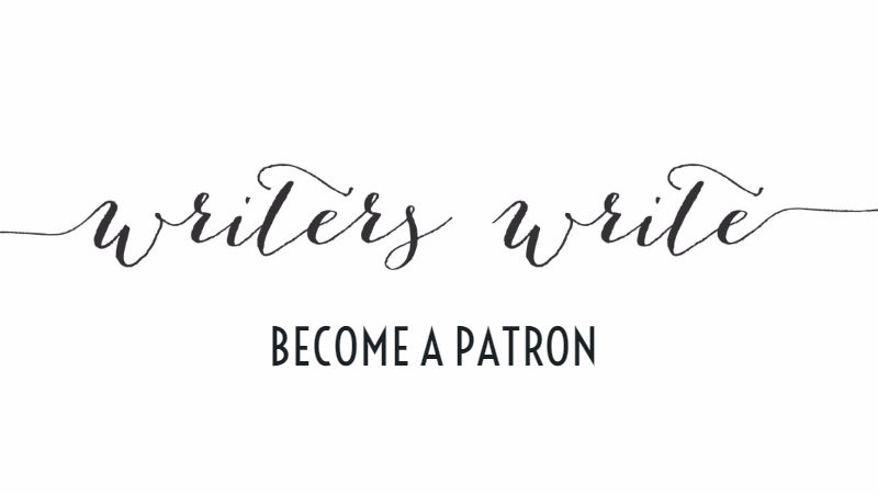 Become A Writers Write Patron