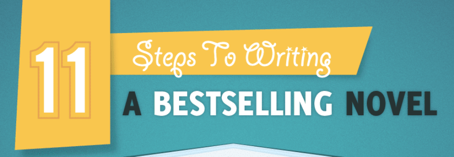 11 Steps to Writing a Bestselling Novel