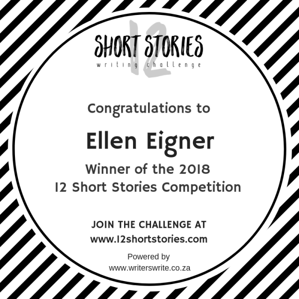 12 Short Stories Announces 2018 Short Story Competition Winner