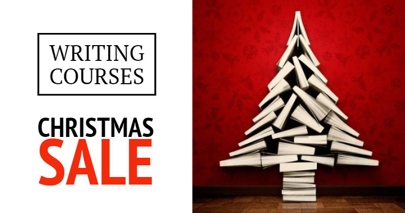 Christmas Sale - Save 25% On In-Person Writing Courses