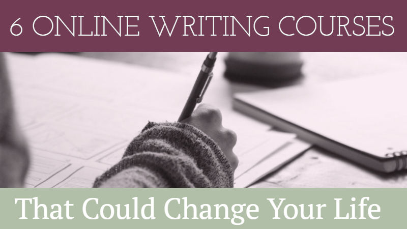 6 Online Writing Courses - Writers Write