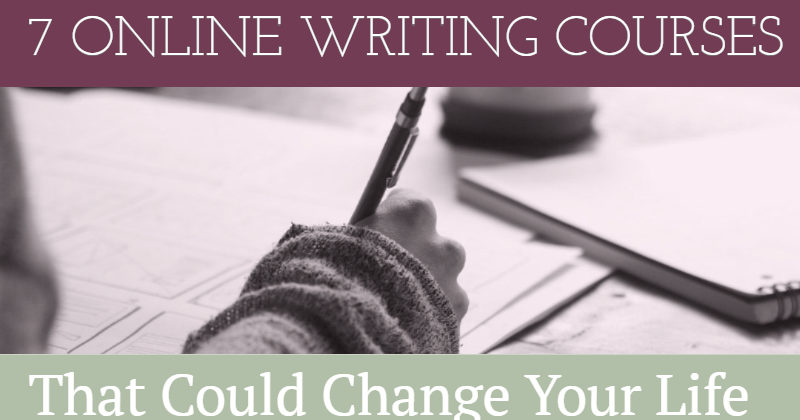 7 Online Writing Courses - Writers Write