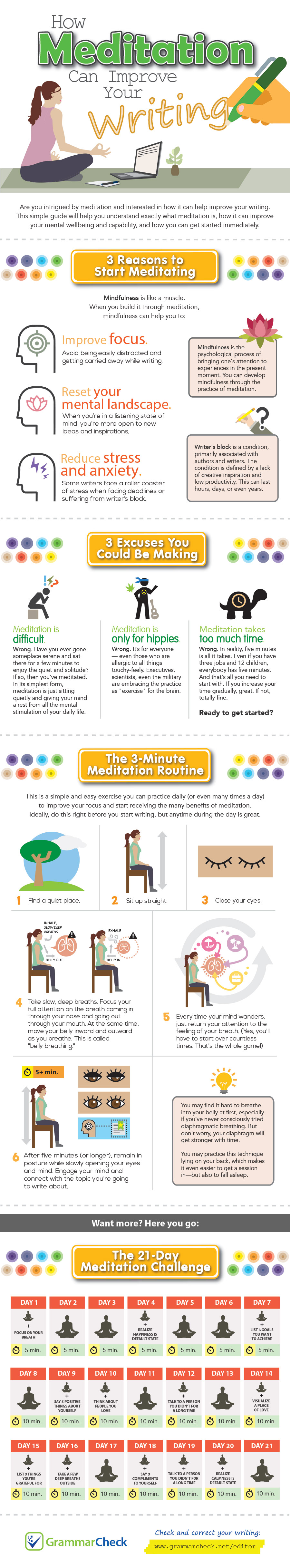 How Meditation Can Improve Your Writing
