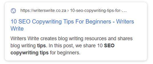 10 SEO CopyWriting Tips