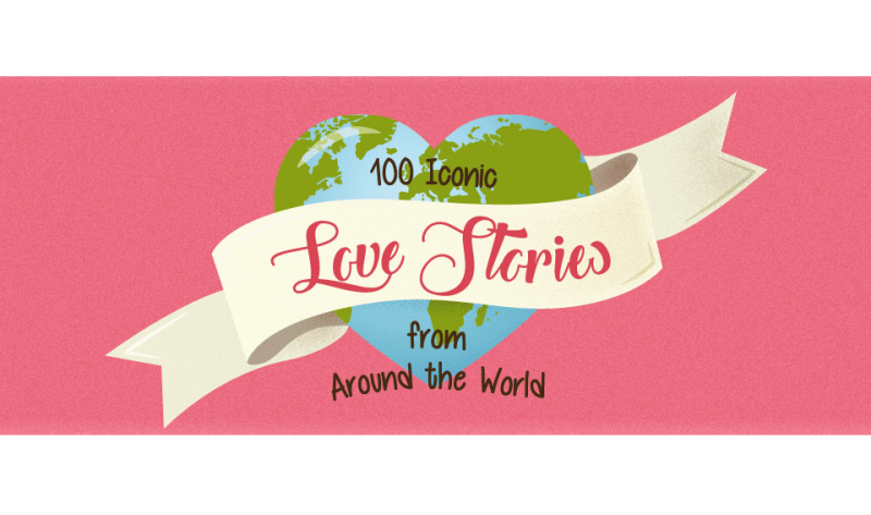 100 Iconic Love Stories From Around the World