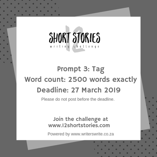 12 Short Stories Challenge: Prompt For Third Short Story