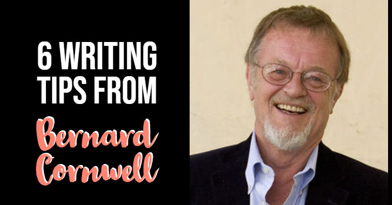6 Writing Tips From Bernard Cornwell
