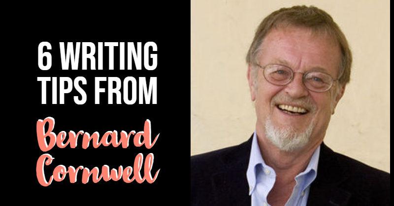6 Writing Tips From Bernard Cornwell