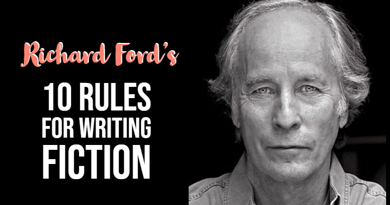 10 Rules For Writing Fiction