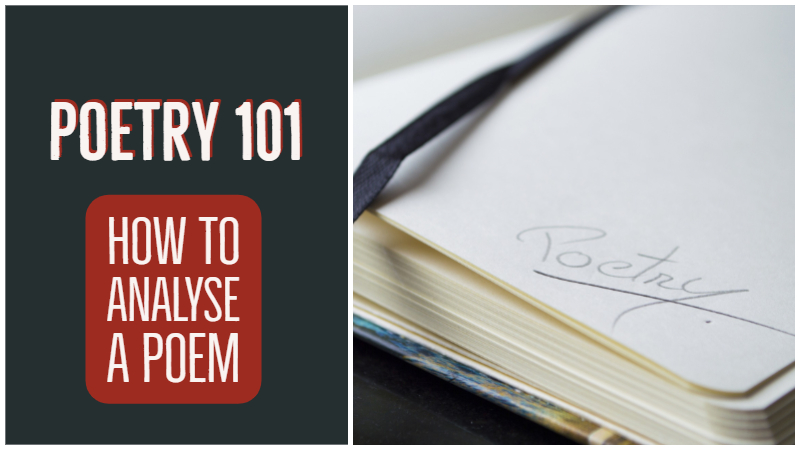 Poetry 101: How To Analyse A Poem