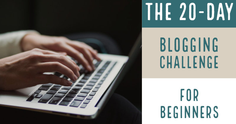 The 20-Day Blogging Challenge For Beginners