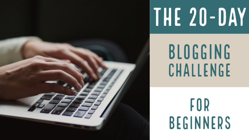 The 20-Day Blogging Challenge For Beginners Copy