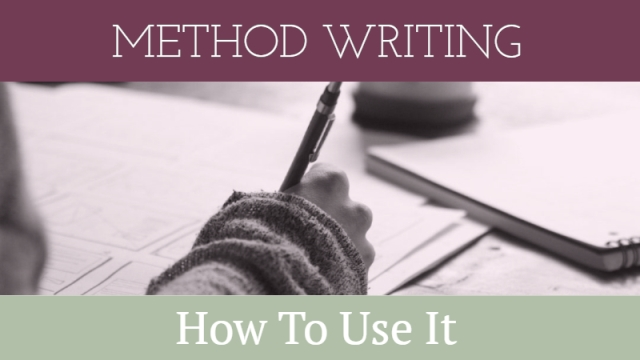 How To Use Method Writing