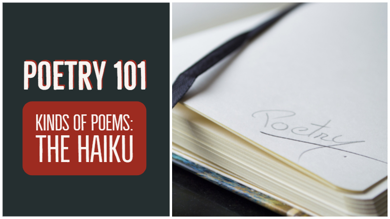 Poetry 101: Kinds Of Poems – The Haiku