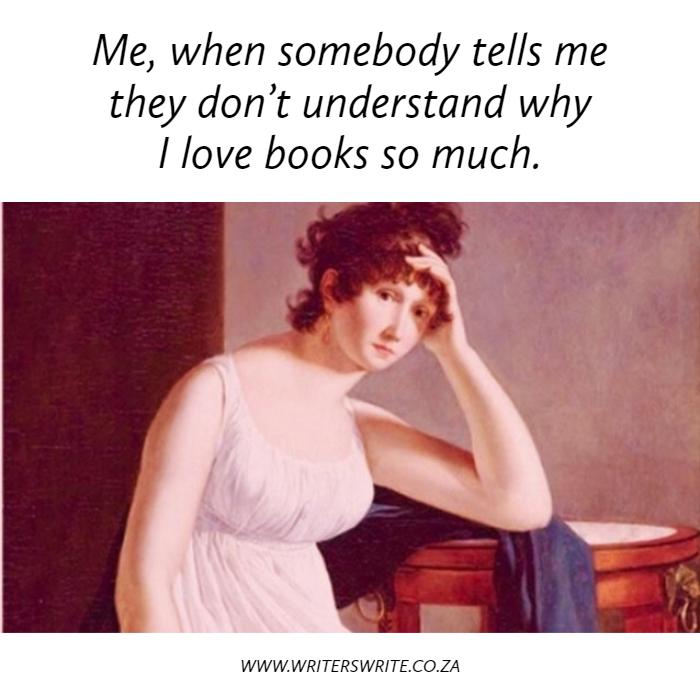 Why I Love Books