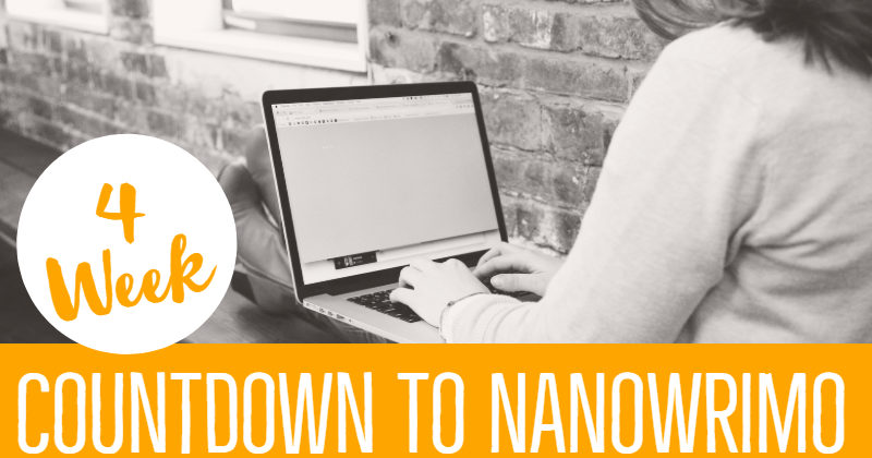 Countdown To NaNoWriMo