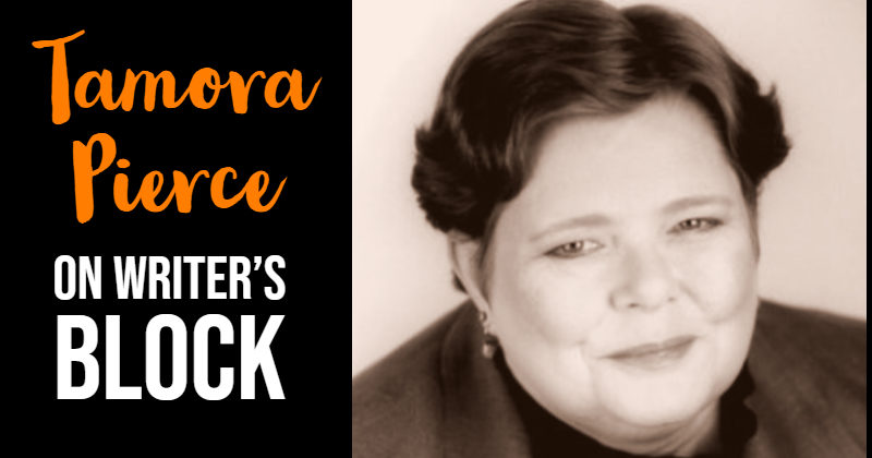 Tamora Pierce On How To Deal With Writer's Block