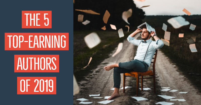 The 5 Top-Earning Authors Of 2019