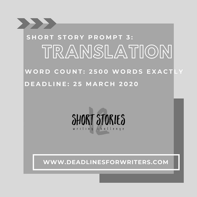 Short Story Prompt 3