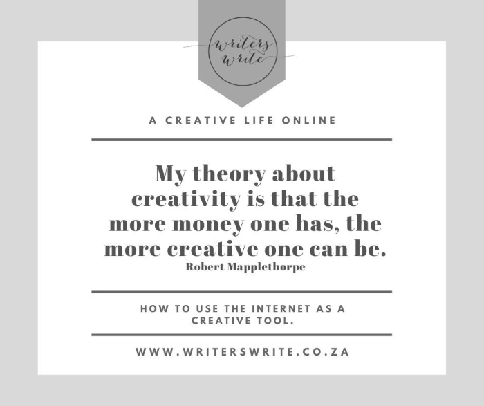 Creativity And Money