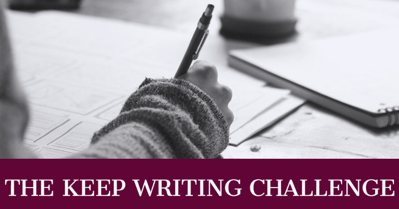 The Keep Writing Challenge