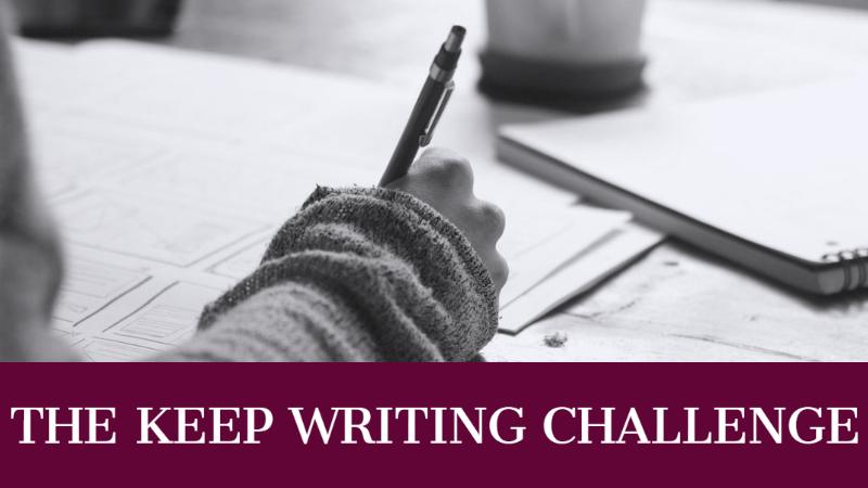 The Keep Writing Challenge