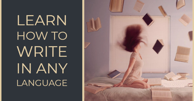 Learn How To Write In Any Language