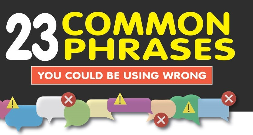 23 Common Phrases You Could be Using Wrong