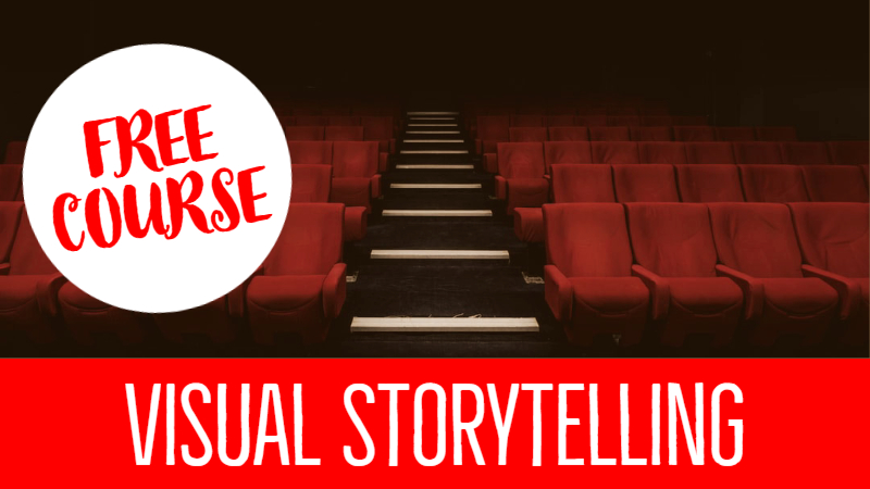 FREE COURSE: Visual Storytelling | 30 Exercises For Screenwriters