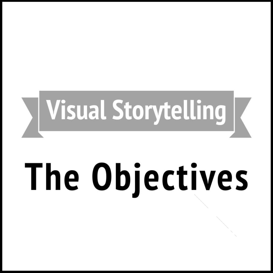 Visual Storytelling Objectives