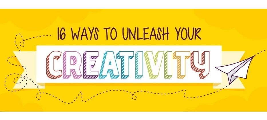 16 Easy Ways to Unleash Your Creativity